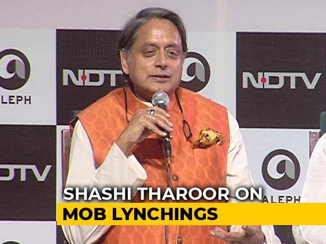 Video : Lynchings Have Nothing To Do With Lord Ram, Says Shashi Tharoor