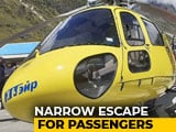 Video : 6 Passengers Injured After Helicopter Crash-Lands In Kedarnath