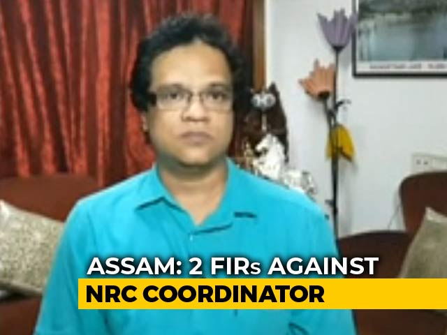 Video : 2 Police Complaints Against Assam Citizens List Incharge For Exclusions