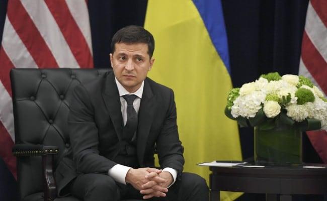 Ukraines præsident Volodymyr Zelensky tester positivt for Coronavirus