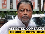 Video : Bengal Cop Arrested In Narada Case Questioned Together With Mukul Roy