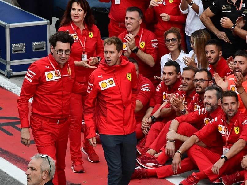 Italian Grand Prix: Sebastian Vettel Crestfallen But Says He Still Loves His Job