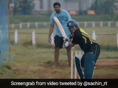कुछ ऐसे Sachin Tendulkar किया करते थे पानी से भरी पिच पर प्रैक्टिस, VIDEO