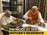 Video : PM Modi Has Birthday Lunch With Mother, Seeks Her Blessing