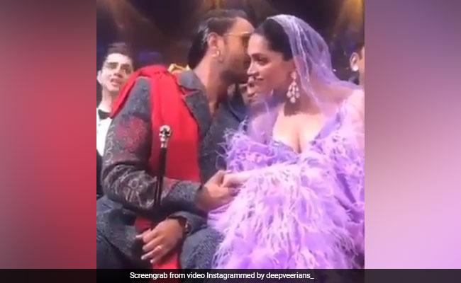 IIFA 2019: Ranveer Singh, World's Best Husband, Kissed Deepika Padukone And Helped Carry Her Veil