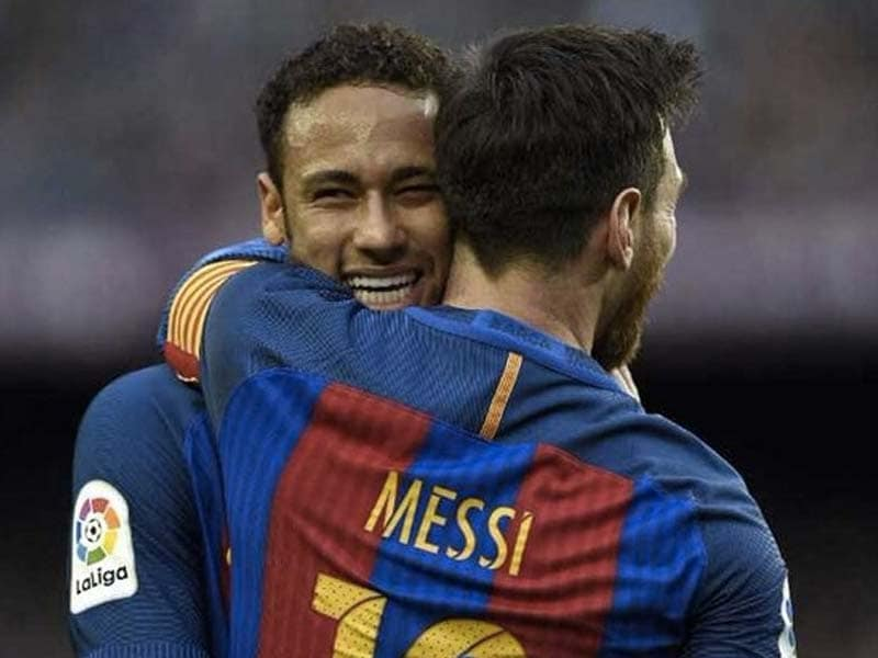 """""""I Would Be Thrilled If Neymar Came Back,"""" Says Barcelonas Lionel Messi"""