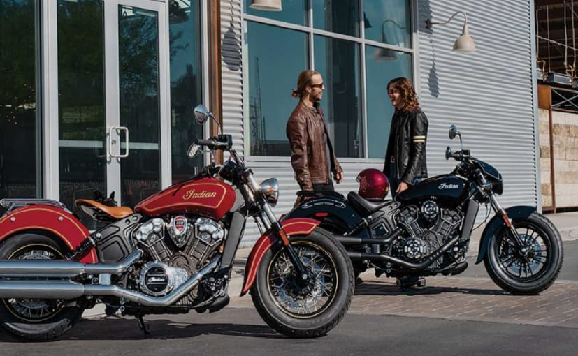 The Indian Scout range may be extended with a new variant with the Scout Rogue name