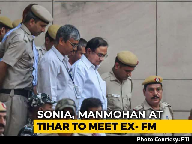 Video : Sonia Gandhi, Manmohan Singh In Tihar Jail To Meet P Chidambaram