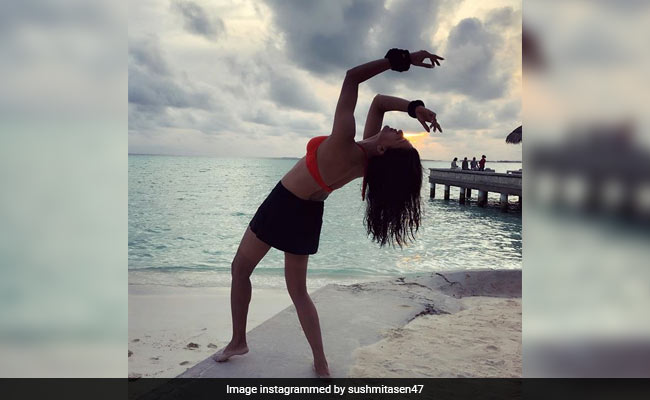 Sushmita Sen's Maldives Holiday Album Gets Better By The Day