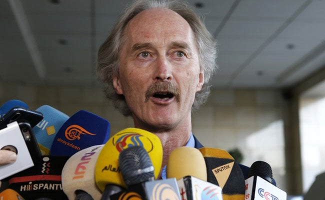 UN Envoy To Syria To Hold Talks To Form Panel To Draft New Constitution