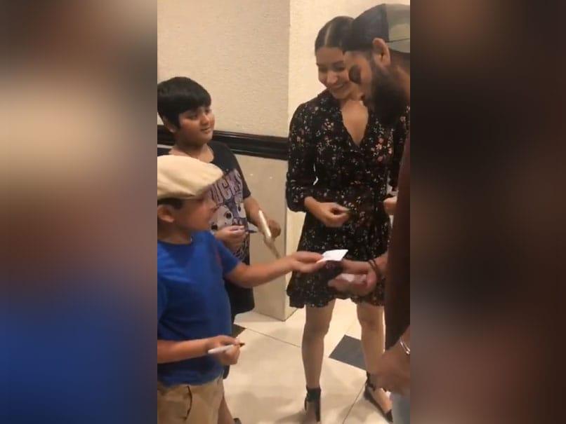 Virat Kohli Takes Autograph of 7-Year-Old Fan, Leaves Anushka Sharma Amused. Watch