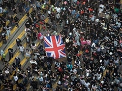 Hong Kong Protesters Sing UK National Anthem In Plea To Britain