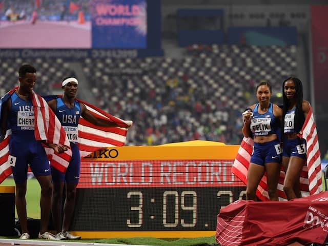 World Athletics Championships: Allyson Felix, Shelly-Ann Fraser-Pryce Seal Record Golds