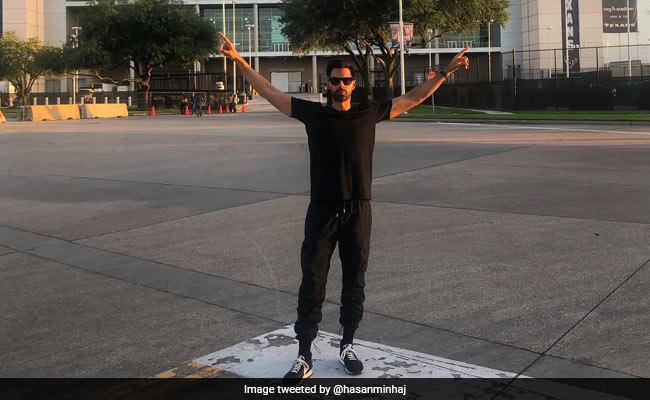 """Never Got A Chance To Say Howdy Modi,"" Says Stand-Up Comic Hasan Minhaj"