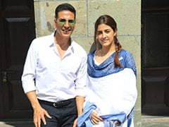 Akshay Kumar Shoots His First Music Video With Kriti Sanon's Sister Nupur
