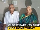 Video : Andhra Couple, 'World's Oldest Parents', To Take Twin Girls Home Today
