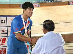 Indias Ronaldo Laitonjam Sets Junior Asian Cycling Record