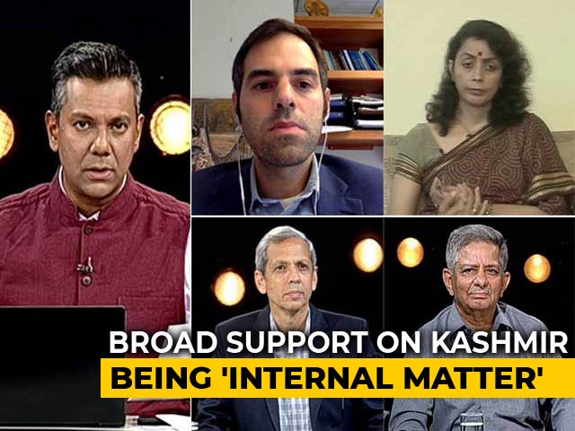Video : Russia Backs India, Other Countries Question Kashmir Clampdown