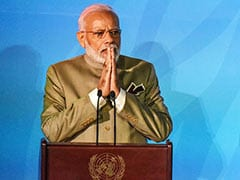"UN Climate Change Summit Highlights: ""The Time For Talking Is Over. The World Needs To Act Now"": PM Modi"