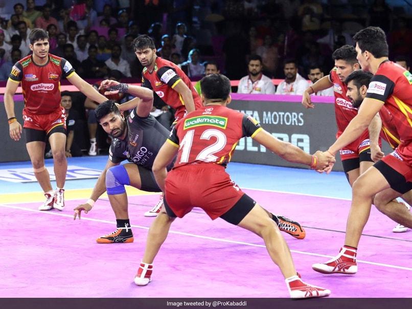 Pro Kabaddi: Bengaluru Bulls Beat U Mumba, Telugu Titans Decimate Jaipur Pink Panthers
