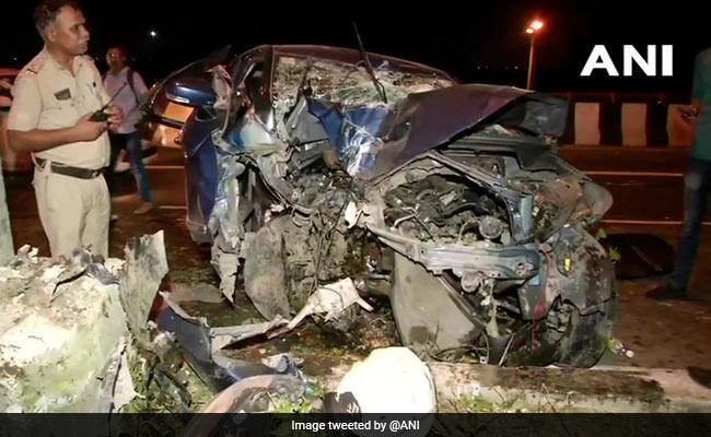 3 Injured After Car Hits Divider In Delhi, Liquor Bottles Found At Spot