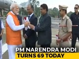 Video : PM Modi Turns 69, Visits Kevadia Eco Tourism Site In Narmada District