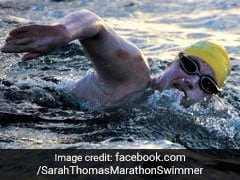 US Swimmer Sarah Thomas First To Cross English Channel 4 Times