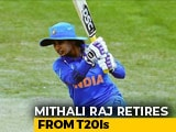 Video : Mithali Raj Announces Retirement From T20 Internationals