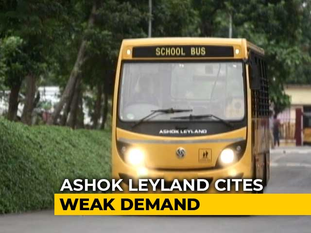 Video : Ashok Leyland To Observe Non-Working Days In September Following Weak Demand