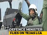 "Video : Defence Minister Rajnath Singh ""All Set"" To Fly In Fighter Tejas"