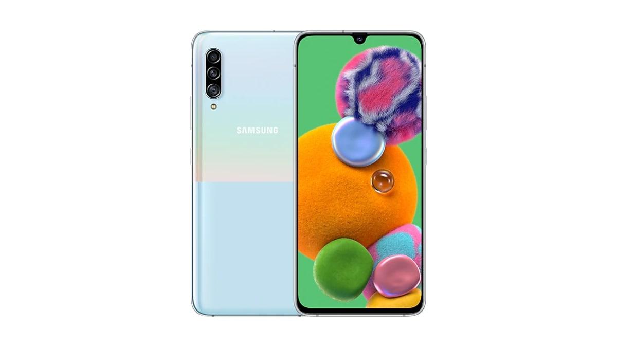 Samsung Galaxy A90 5G लॉन्च, स्नैपड्रैगन 855 प्रोसेसर और तीन रियर कैमरे हैं इसमें