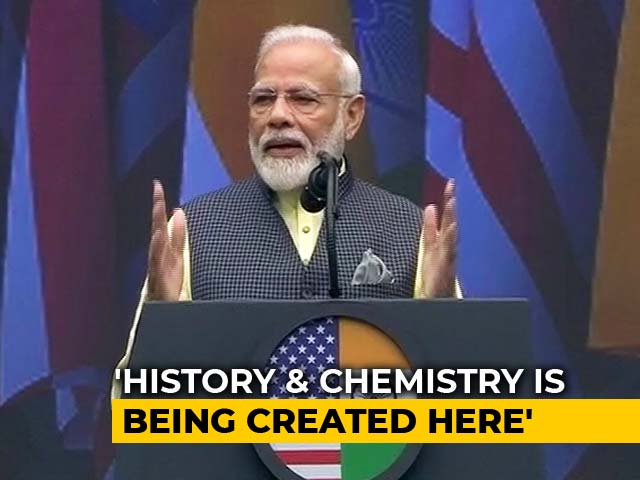 Video : Watch PM Modi's Full Speech At Mega 'Howdy, Modi!' Event In Houston