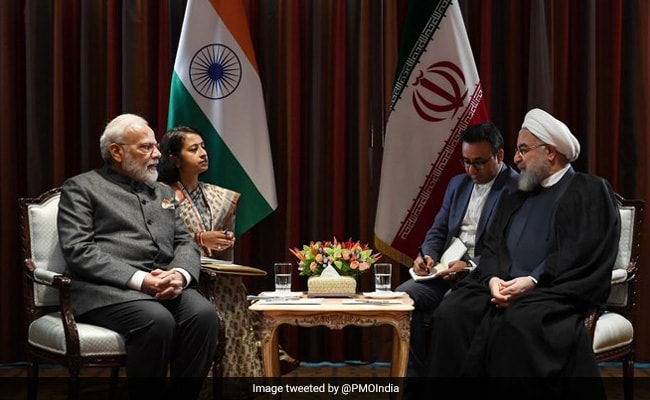 PM Modi Meets Iran President Hassan Rouhani, Discusses Regional Situation