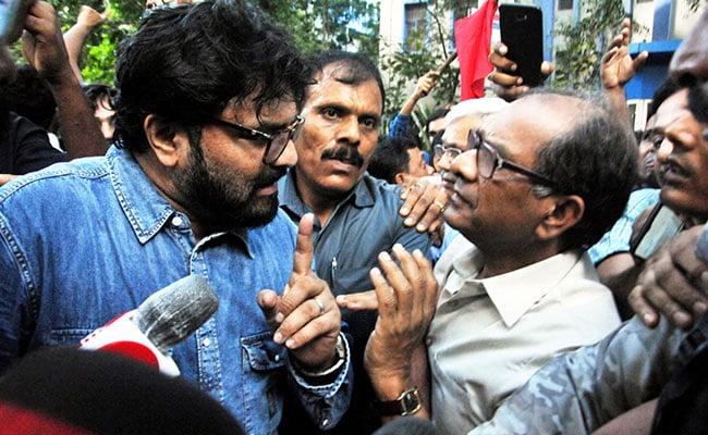 Trinamool Vs Governor As Babul Supriyo Targeted At Jadavpur University