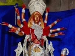 Durga Puja 2019: একশোয় ১১০ কেজি রূপোর প্রতিমা, 'অপরূপা বাংলা মা' কামারডাঙায়