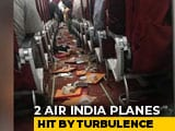 Video : 2 Air India Planes Hit By Turbulence Damaged, Cabin Crew Injured