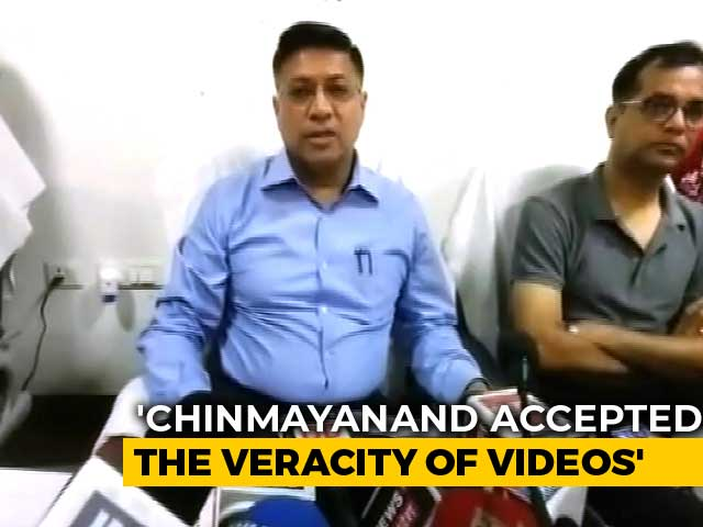 "Video : Chinmayanand, Accused Of Rape, Arrested; ""Told Us He's Ashamed,"" Say Cops"