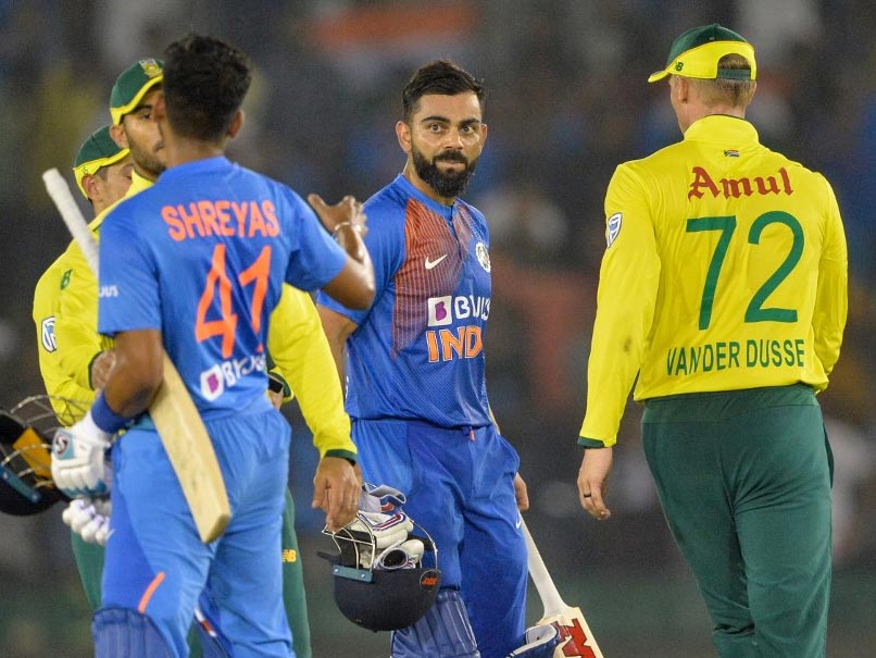 3rd T20I: India Look To Wrap Up Series Against South Africa In Bengaluru
