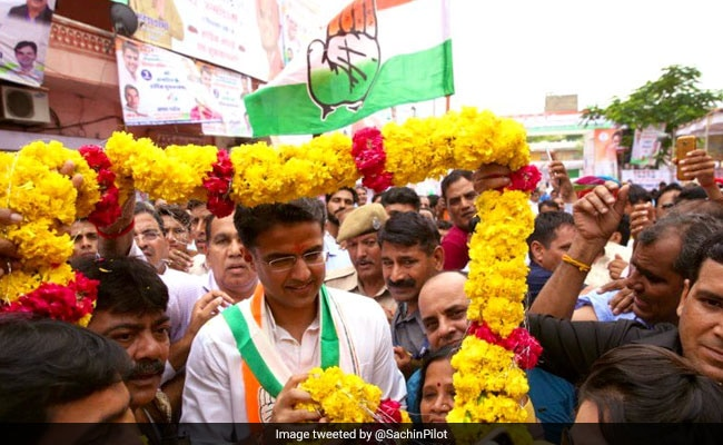 Sachin Pilot's Birthday Turns Into Congress Show Of Strength In Rajasthan