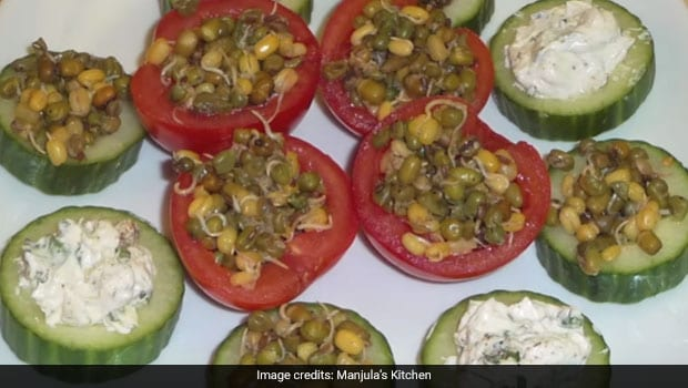 High-Protein, Low-Carb Sprouted Moong Dal Snack For Weight Loss: Watch Recipe Video Here