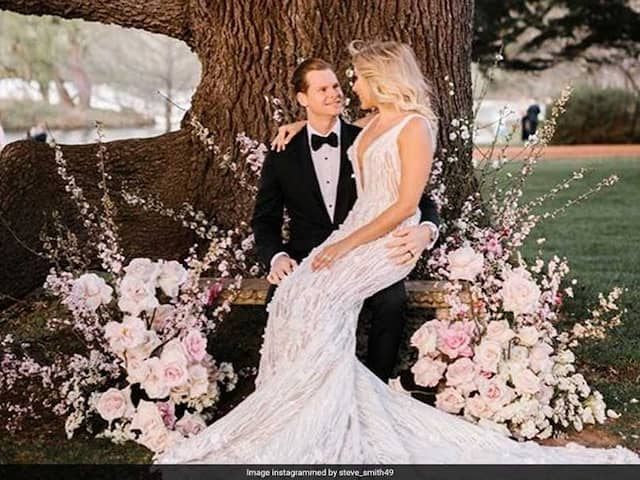 "Steve Smith Thanks Wife Dani Willis For ""Support, Guidance And Love"" On 1st Wedding Anniversary"