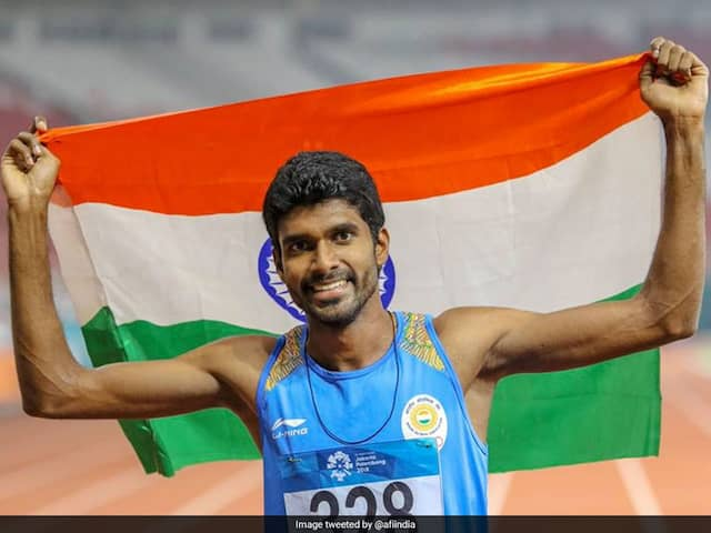 Jinson Johnson Betters Own 1500m National Record, Qualifies For World Cships