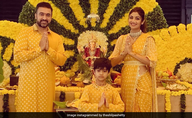 Ganesh Chaturthi: Inside Shilpa Shetty, Raj Kundra And Viaan's Eco-Friendly Celebrations