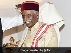 Former Union Minister Bandaru Dattatreya Sworn In As Himachal Governor