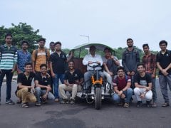 IIT Kharagpur Students Develop New Electric 3-Wheeler