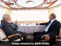 "PM Modi, Putin Spend ""Quality Time Together"" On Ship In Russia"