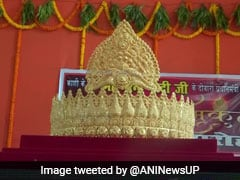 Man Offers Gold Crown At Varanasi Temple To Mark PM Modi's Birthday