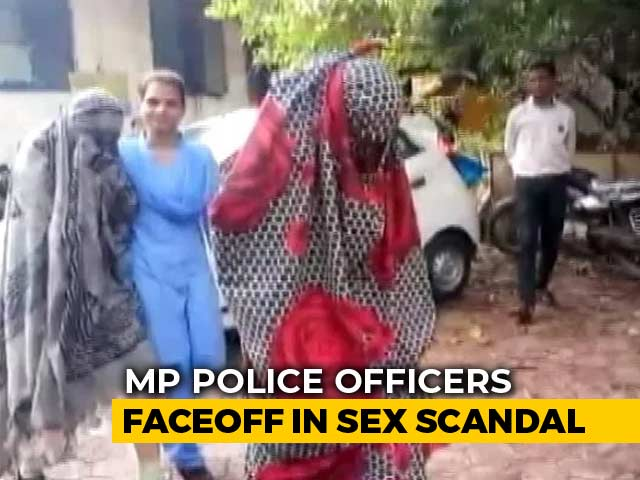 Video : Senior Cops Face Off Over Madhya Pradesh Sex Scandal Probe