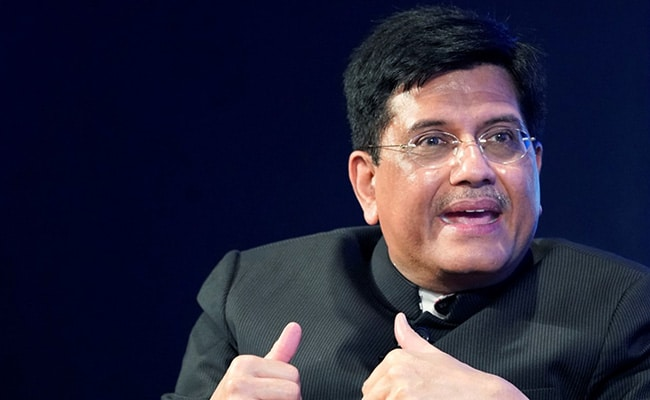 India Wants Industry Protected In China-Backed Trade Deal: Piyush Goyal