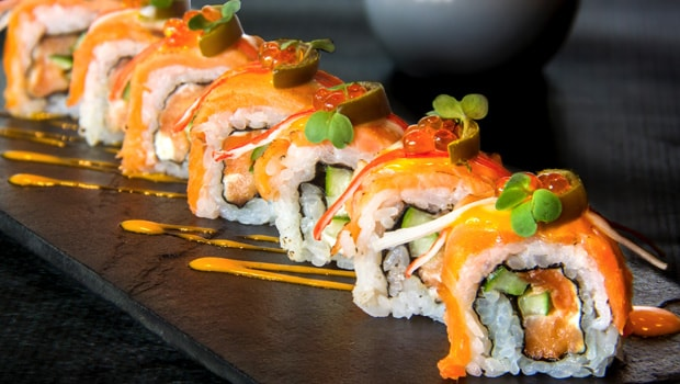 Andrea's Bar And Brasserie's New Sushi Menu Is A Delightful Blend of Japanese And Contemporary World Flavours